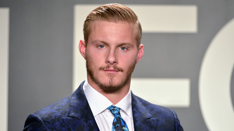 Alexander Ludwig reveals his secret to staying fit