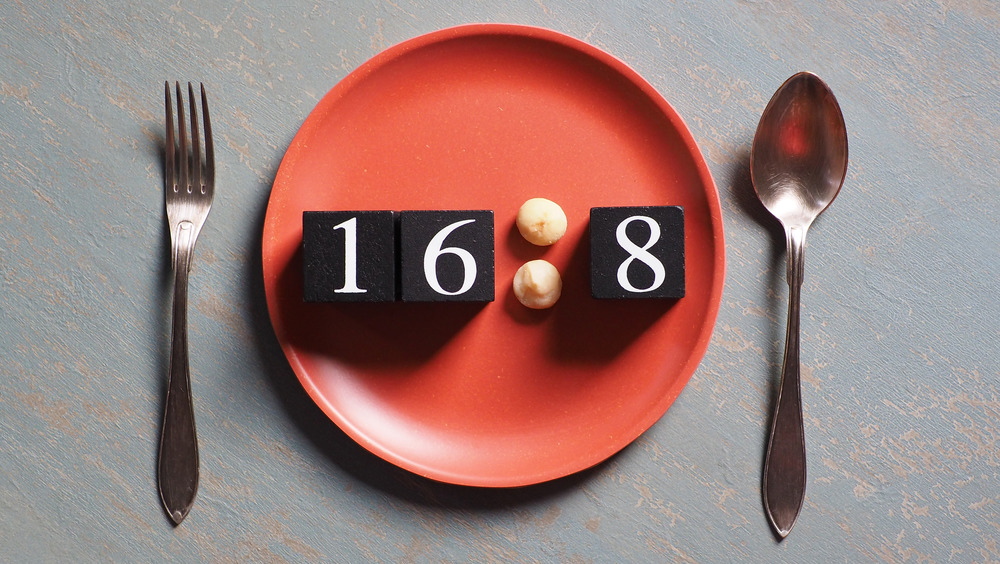 16:8 on plate