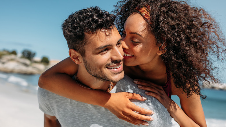 The surprising way kissing benefits your teeth
