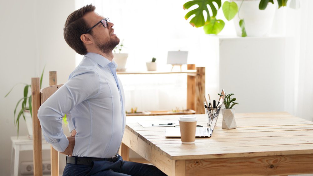 Bad posture from spending too much time inside