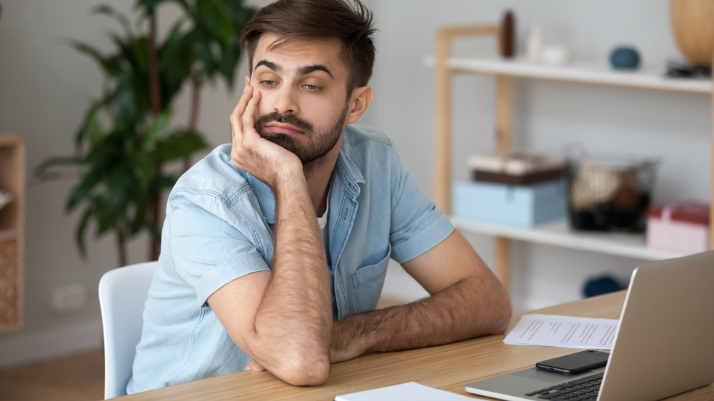 Lack of motivation from spending too much time inside